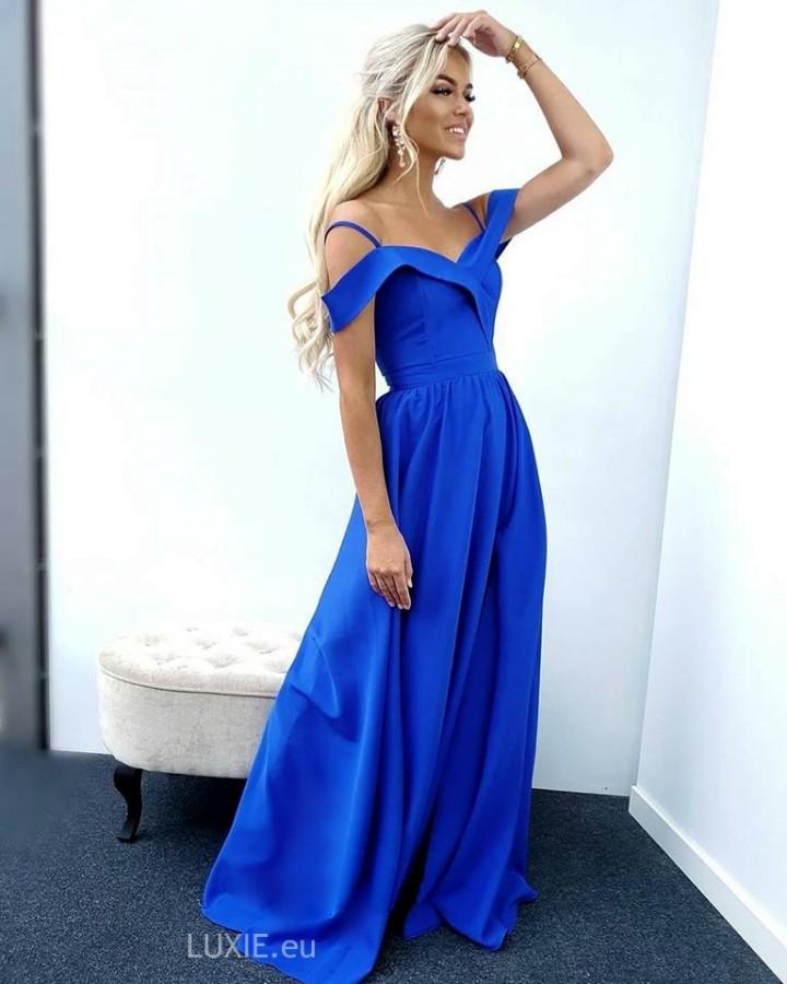 00d381954e73 Elizabeth dress královské modré - Luxusné spoločenské šaty