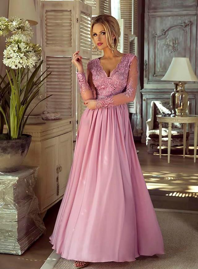 32dc79be07ab Luna dress fialové - Luxusné spoločenské šaty