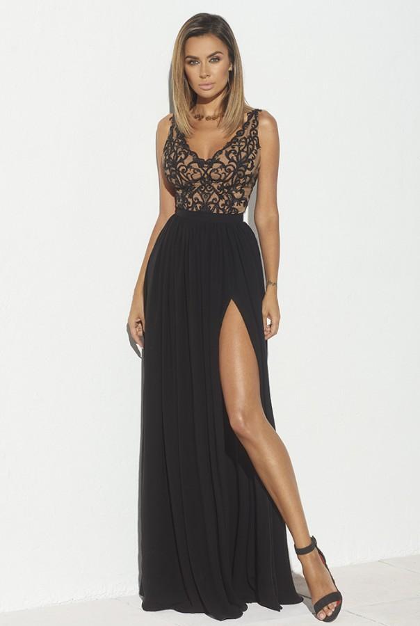 c5c39a0cdf56 Zanda dress - Luxusné spoločenské šaty