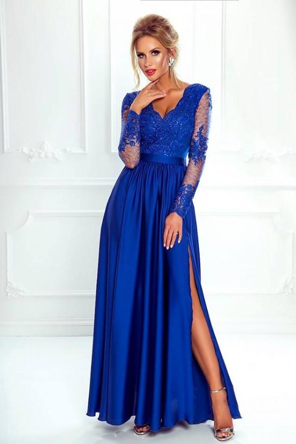 c875bc8fa593 Luna dress kráľovské modré - Luxusné spoločenské šaty