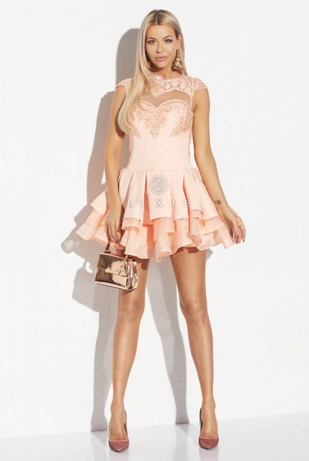 Eveline dress - Luxusné spoločenské šaty  1294a163a40