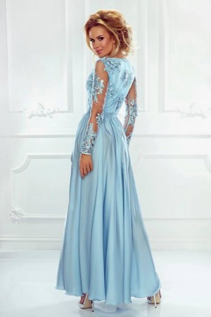 0cc303b4fb8 Luna dress svetlomodré ...