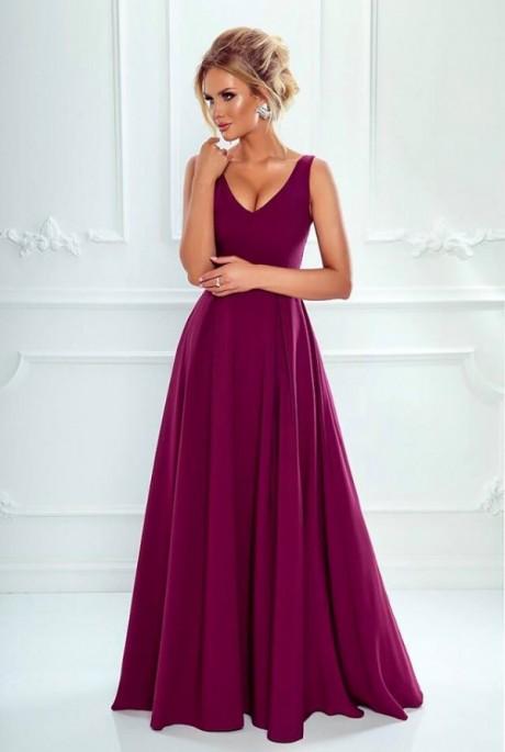44c650c6d23f Klaudia dress bordové - Luxusné spoločenské šaty