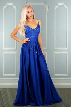 460ac4f4b93 Bella dress kráľovské modré ...
