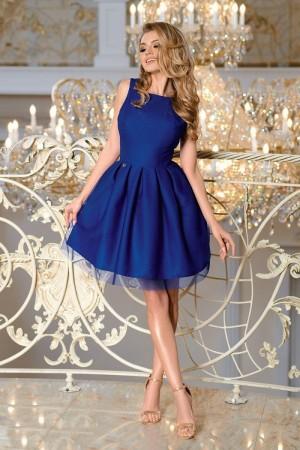 44b19285945 Sabrina dress kráľovské modré ...