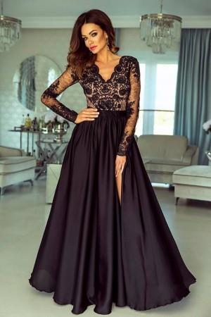 Luna dress čierno-béžové ... 4360fa97990