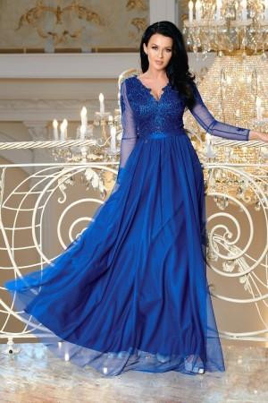 1943bf3fd9f Sophia dress kráľovské modré ...
