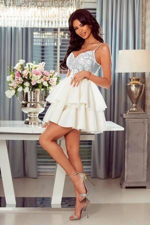 6eaf296ba0e1 Leila dress modro-biele ...